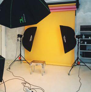 фотостудия, как снимать в фотостудии, синхронизатор, как работать с синхронизатором